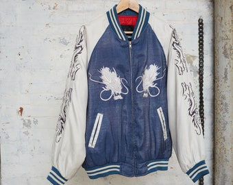 AUTHENTIC JAPANESE SILK Bomber
