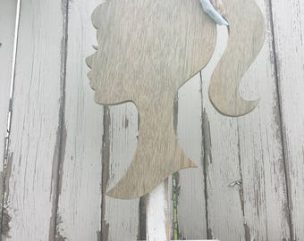 Display for Headbands | Wooden Mannequin | Headband Display | Headband Prop | Headband Stand | Photo Prop for Headbands | Silhouette |Rustic