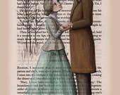 Jane Eyre - Charlotte Bronte - Reader I Married Him - print