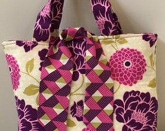 Fuchsia  Lilly Blossom Bag