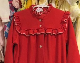 70s Red Robe Girls 5
