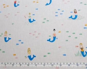 CUSTOM Reusable Cloth Menstrual Pad - You Pick Backing - Mermaids