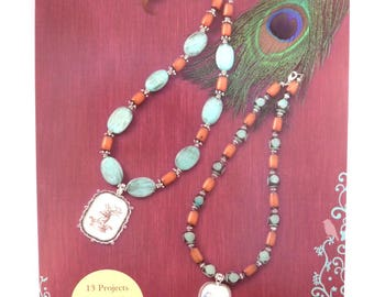 """Jewelry Pattern Book Blue Moon Beads® """"Enchanted Planet"""" Beading Instruction Book 13 Projects 8x5.5 in. - 1 pc. - 0005-S - New"""