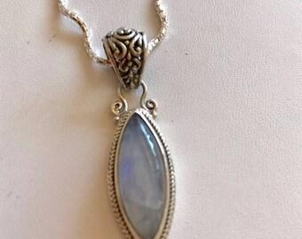 Moonstone Pendant-Gemstone Pendant