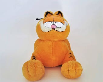 Vintage 1978 Paws Garfield Plush, Fine Toy Co.
