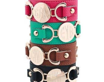 Heartstrings Leather Cuff Bracelet