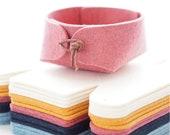 Jewelry organizer - bathroom storage solutions - Bedside organizer - wool felt makeup organizer - makeup storage basket - nordic decor