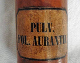 Antique French Apothecary Wooden Bottle Box