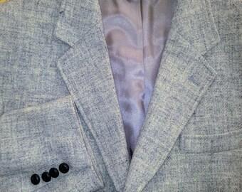 Vintage Mens Wool Coat Size 43