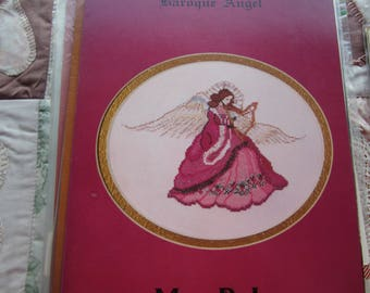 Baroque Angel. Mar Bek Counted Cross Stitch Chart