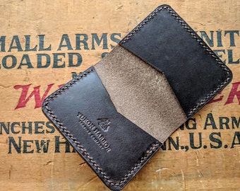 Horween Chromexcel Leathe Bi-Fold Card Wallet
