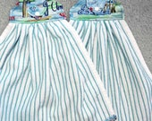 Nautical hanging kitchen towels - set of 2