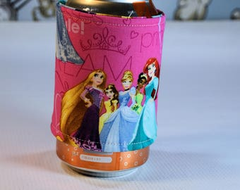 Princess Can/Bottle Cozy/Home Decor/ Housewarming Gift/ Kitchen Decor/ Hostess Gift/ Wedding Gift/ Gift for her/ Fun gift/ Boyfriend gift