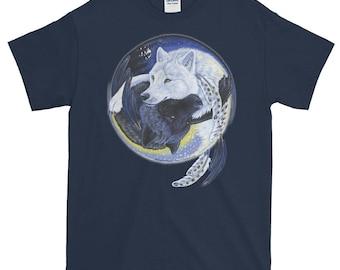 Wolf Yin Yang T-Shirt