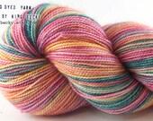 Cosmic Parade - Kitsune- Limited Edition Sock Yarn - 2 Ply SW Merino/Nylon