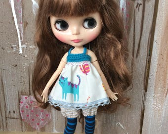 OOAK Blythe mini dress