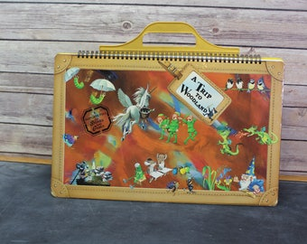 A Trip to Woodland Book, A Suitcase Full of Stories and Games, 1991