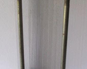 Rare Antique Salesman's Sample Cast iron loom weaving