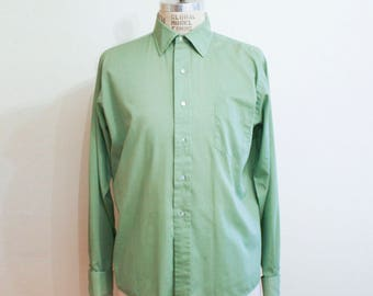 Riggs Olive shirt for Cuff Sleeves