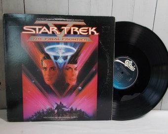 Star Trek The Final Frontier Vinyl Lp