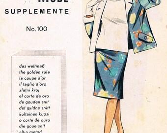 Vintage Lutterloh System - The Golden Rule Supplement No.100, 1960's