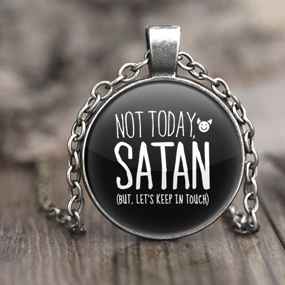 Atheist jewelry funny jewelry quote necklace atheist gift gothic atheist jewelry funny jewelry quote necklace atheist gift gothic pendant necklace funny aloadofball Choice Image