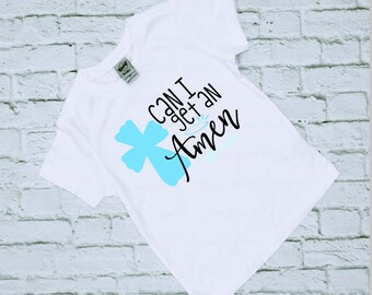 Religious Gifts - Christian Shirts - Christian Gifts - Religious Shirts - Christian - Religious - Girls Christian Shirts - Amen Shirts