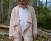 KNITTING PATTERN-The Kyst Sweater 1/2, 3/4, 5/6, 7/8, 9/10, 11/13, xsm, sm, med, med/large, large, xlarge, xxlarge, 3xlarge, 4xlarge