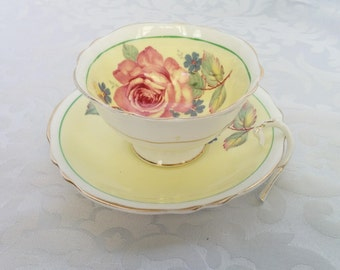 Paragon Tea Cup and Saucer, Paragon Tea Cup, Fine Bone China