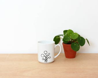 Pilea mug - Pilea peperomioides