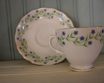 Vintage Royal A Vale Bone China-Made in England