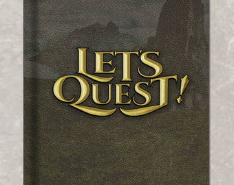 Let's Quest! Notebook or Journal