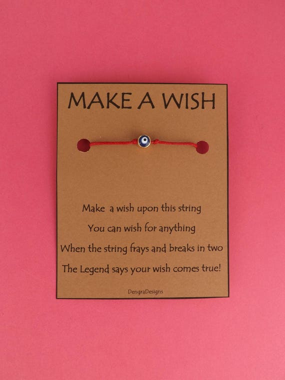 Evil Eye Wish String