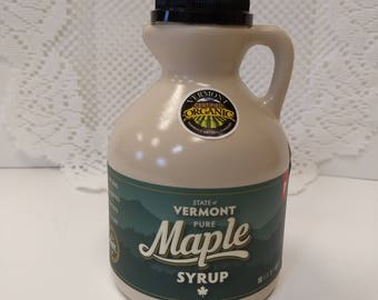 100 percent Pure Vermont Maple Syrup pint