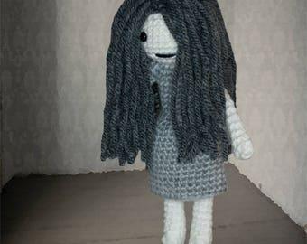 Crochet Pattern ~ Ghost Girl ~ Crochet Pattern