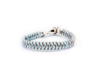 Surfer Bracelet, Thick Bracelet, Hemp Bracelet, Mens Bracelet