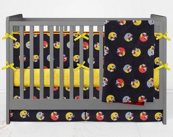 Crib Bedding Mickey Mouse Lolas Lovies handmade baby bedding