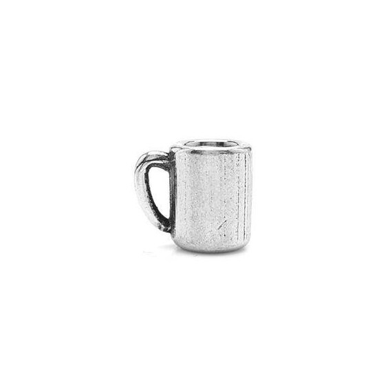 Small Coffee Cup Charm - Add a Charm to a Custom Charm Bracelets, Necklaces or Key Chains - Read Description for More Info