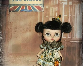Blythe  ~ RESERVED for PENNY ~Vintage Circus Inspired 3 Piece Outfit ~ By KarynRuby