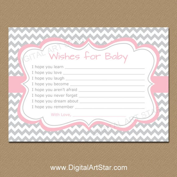 Wishes For Baby Girl Baby Shower Wishes Well Wishes Dear Baby