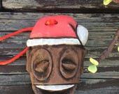 Holiday Tiki Ornament Tanga Baby Design by Polynesiac Inspired by Disneyland