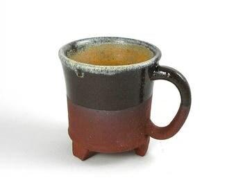 Coffee Mug, Mug, Ceramic Mug, Cute Mug, red stoneware, Nirthday Gift, Mugs with Sayings, Fun Mug, orange, rust, mauve