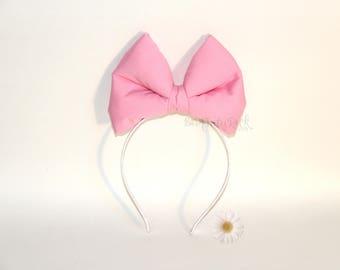 Daisy Bow || Daisy Duck Bow || Big Pink Bow || by Born Tutu Rock