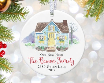 wife first christmas in our new home ornament personalized gift first christmas new