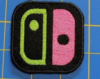Nintendo Switch logo Splatoon 2 Joycon colors
