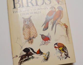 """vintage bird book: """"Birds, Their Life, Their Ways, Their World"""" Reader's Digest"""