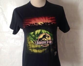 Vintage Jurassic Park 1993 tshirt