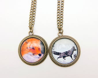 Fox Necklace,  2525C