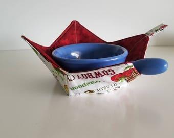 Bowl Cozy, Cowboy Chili, Tex Mex, Recipe, Jalapeno, Guacamole, Microwave Bowl Cozies, Reversible