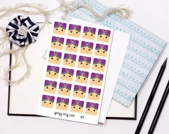 H5 My Hmongy 7 - 4x6 Glossy Sticker Sheet
